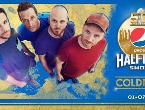 Coldplay en concert à la mi-temps du 50ème Super Bowl (Pepsi Super Bowl 50 Halftime Show)