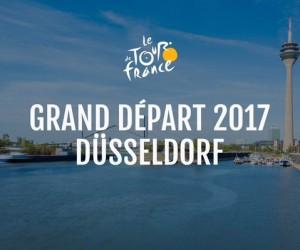 La ville de Düsseldorf (Allemagne) accueillera le Grand Départ du Tour de France 2017
