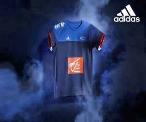 adidas dévoile les maillots de l'Equipe de France de Handball pour l'Euro 2016 et les JO de Rio