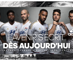 adidas et l'Olympique Lyonnais dévoilent le «Maillot des Lumières» pour l'entrée dans le Grand Stade