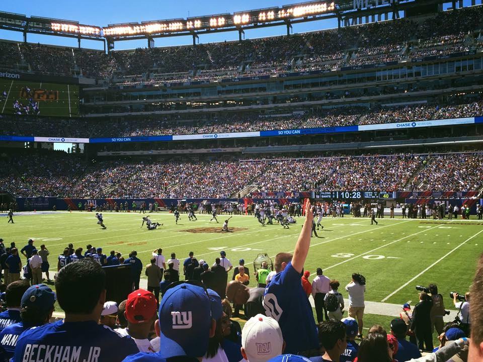 metlife stadium experience NFL