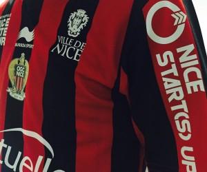 «Nice Start(s) Up» sur la manche de l'OGC Nice pour les matchs à l'Allianz Riviera