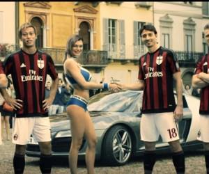 Une course poursuite sportive et sexy pour les joueurs du Milan AC dans la nouvelle publicité de Toyo Tires