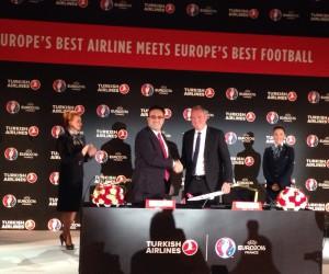 Turkish Airlines Compagnie Aérienne Officielle de l'UEFA EURO 2016