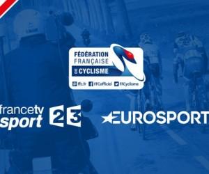 La Fédération Française de Cyclisme signe avec France Télévisions et Eurosport pour la diffusion des différents Championnats de France