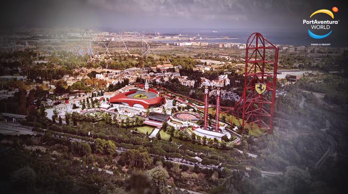 D couvrez ferrari land le nouveau parc d 39 attractions de - Barcelone parc d attraction port aventura ...