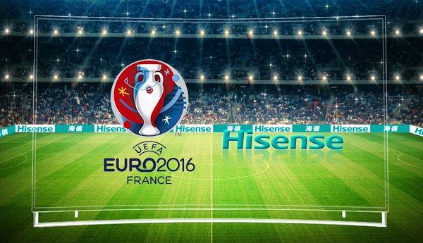 Hisense sponsor UEFA EURO 2016