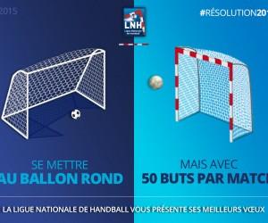 Digital – La Ligue Nationale de Handball drague les fans d'autres sports sur les réseaux sociaux pour ses Voeux 2016