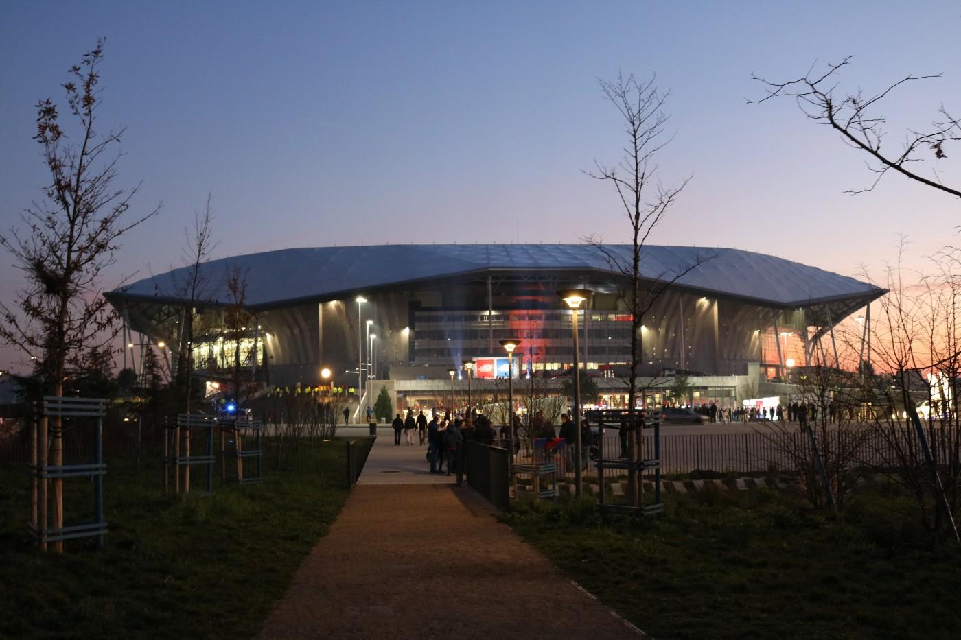Parc Olympique Lyonnais OL OM sociol room hyundai