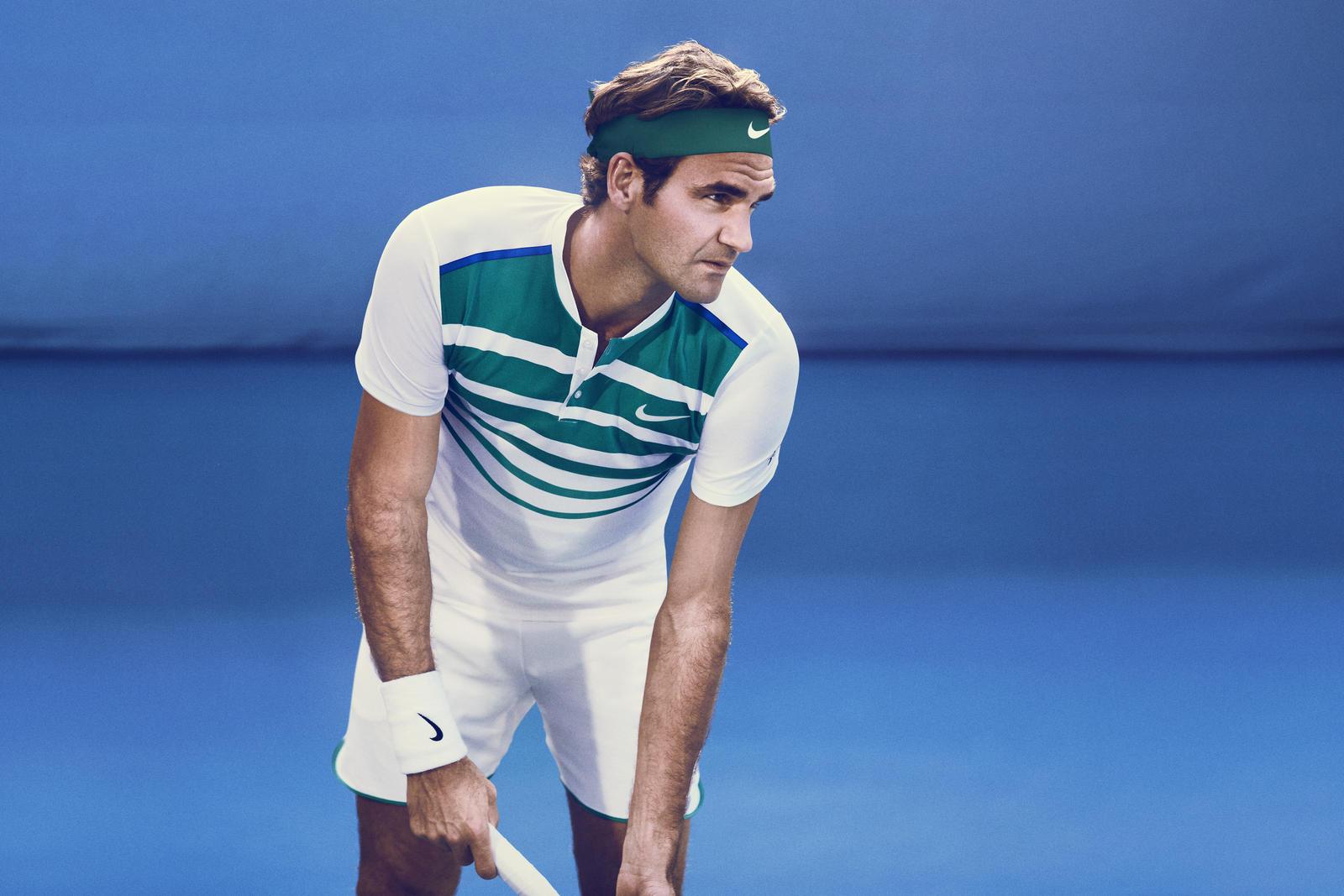 Roger Federer Nike outfit australian open 2016 tennis