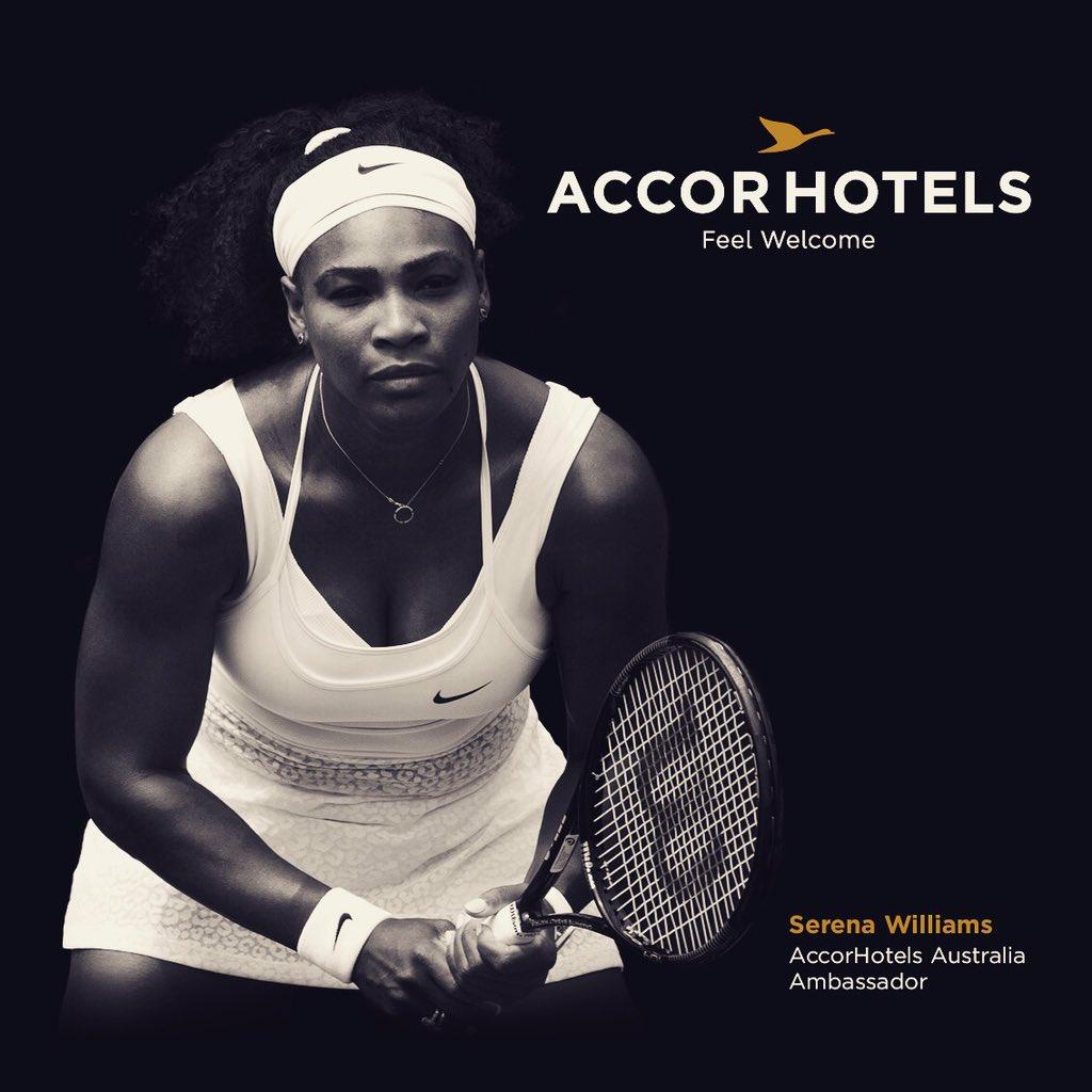 accorhotels Serena Williams