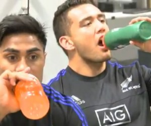 Sponsoring – Les All Blacks délaissent Powerade pour Gatorade