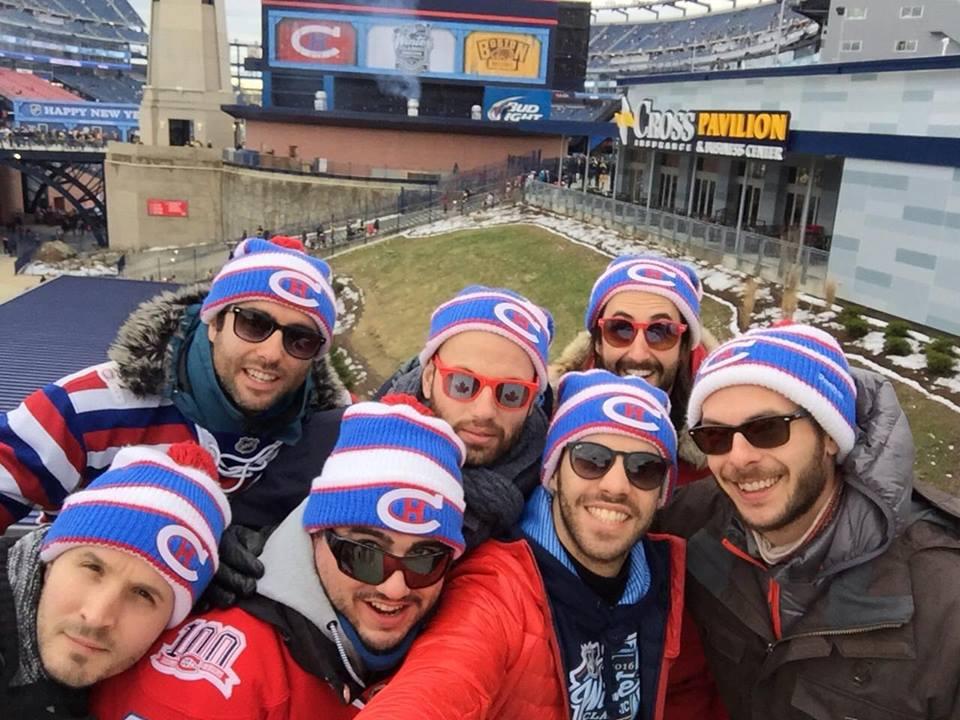 canadiens montréal winter classic 2016 partisans NHL