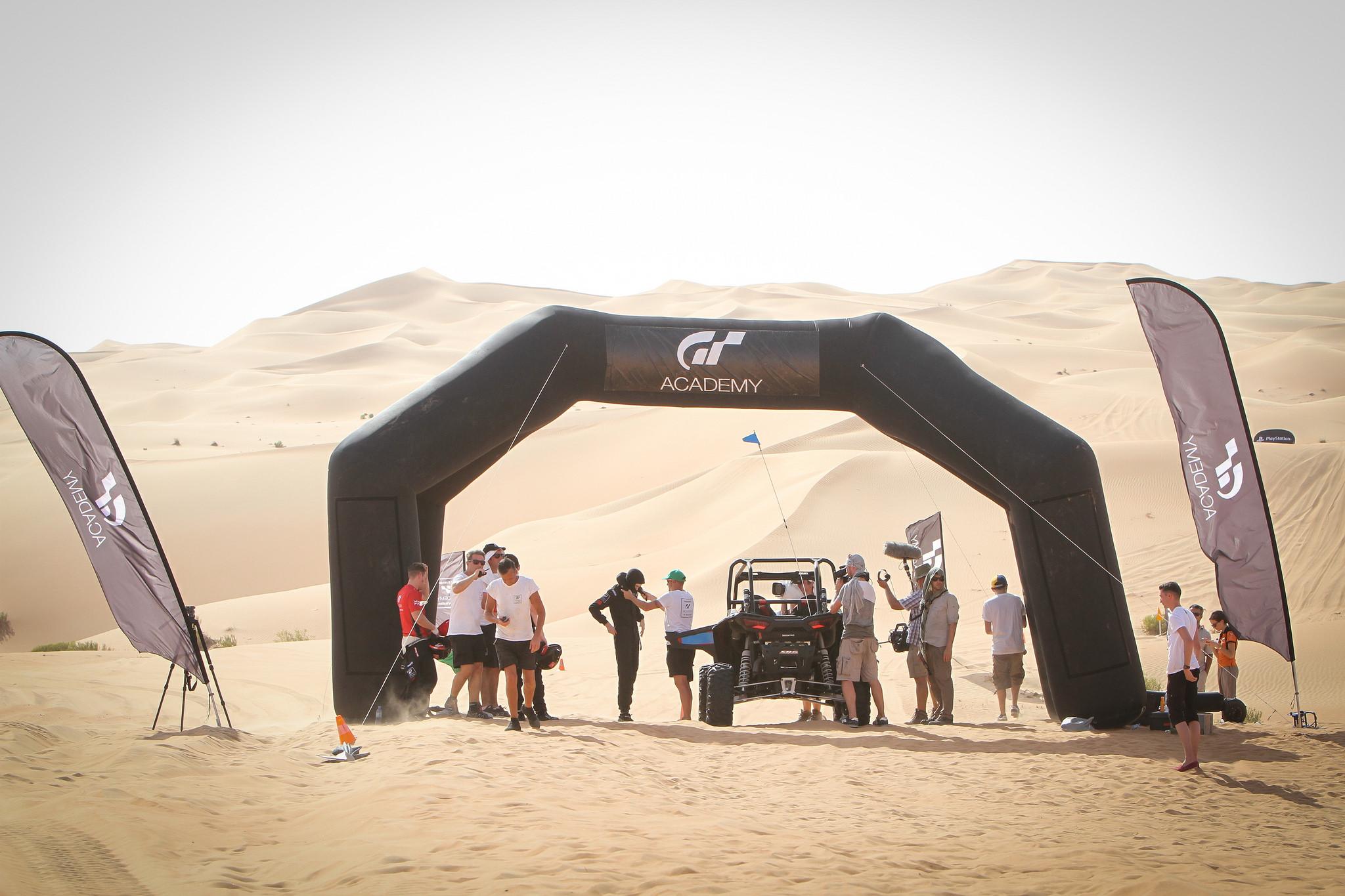 desert abu dhabi Nismo Playstation GT Academy 2015 abu dhabi