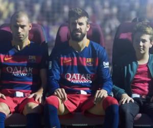Qatar Airways revisite les consignes de sécurité d'un vol avec les joueurs du FC Barcelone