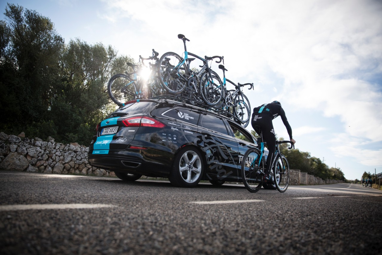ford TEAM SKY cyclisme mondeo break