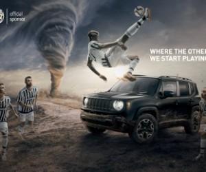 Paul Pogba et les joueurs de la Juventus Turin face à une tornade dans la nouvelle publicité Jeep