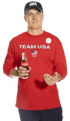jordan spieth team USA olympics Coca-Cola