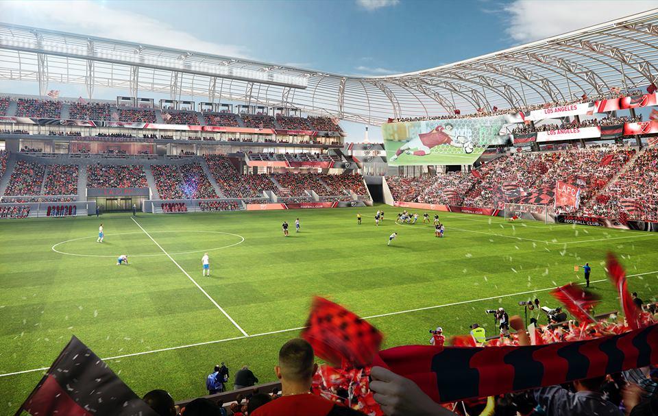 los angeles FC stadium MLS soccer