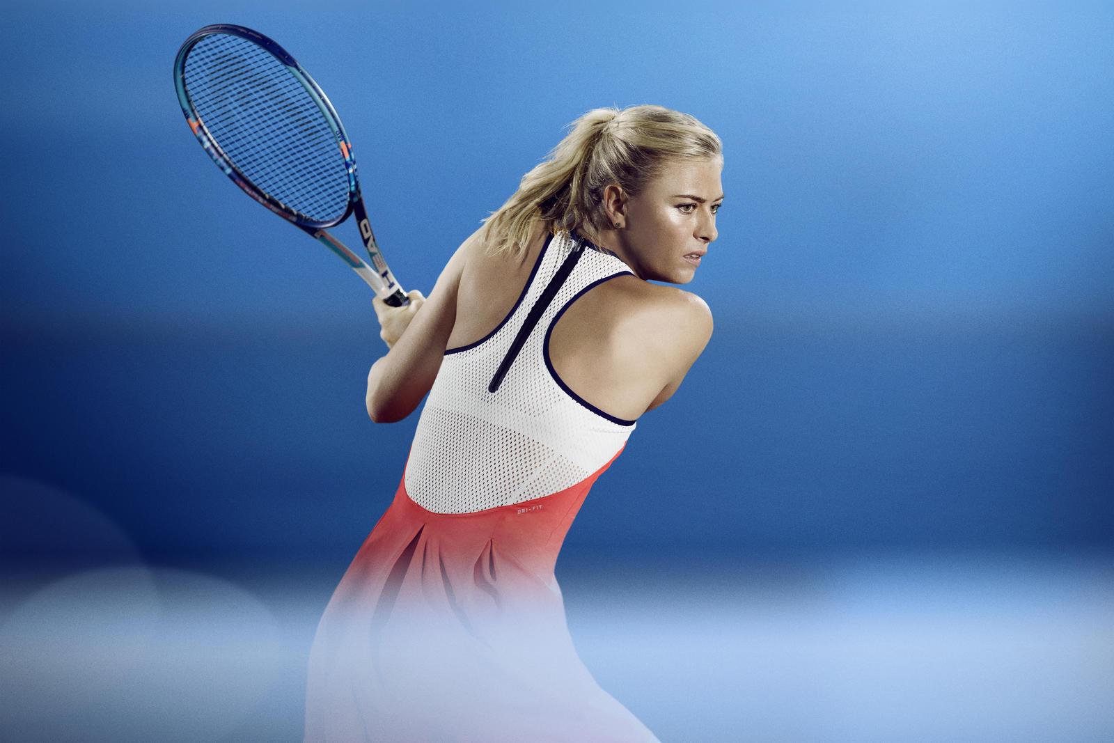 maria sharapova nike tennis outfit australian open 2016