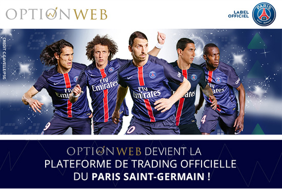 optionweb PSG sponsor trading