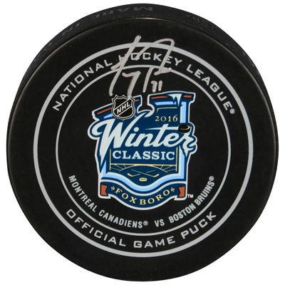 palet hockey winter classic 2016 autographe carey price