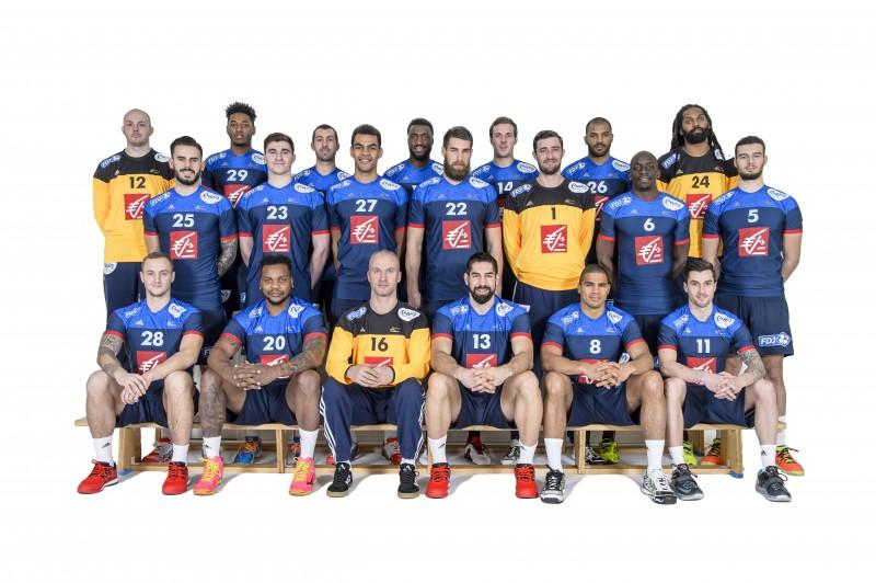 équipe de france handball sponsor ENVIA LIDL lait