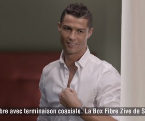 SFR dévoile sa première publicité TV avec Cristiano Ronaldo