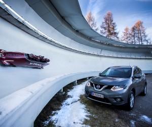 [Inside] Quand Nissan réalise un bobsleigh 7 places (première mondiale) pour promouvoir le X-Trail