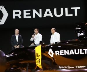 Renault dévoile sa Formule 1 et son nouveau dispositif dans les sports mécaniques pour 2016