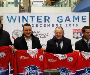 """L'OL et le Lyon Hockey Club unis pour faire rayonner le hockey sur glace et le Parc OL avec le """"Winter Game"""" fin 2016"""