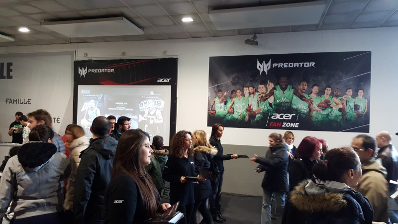 acer fan zone asvel basket