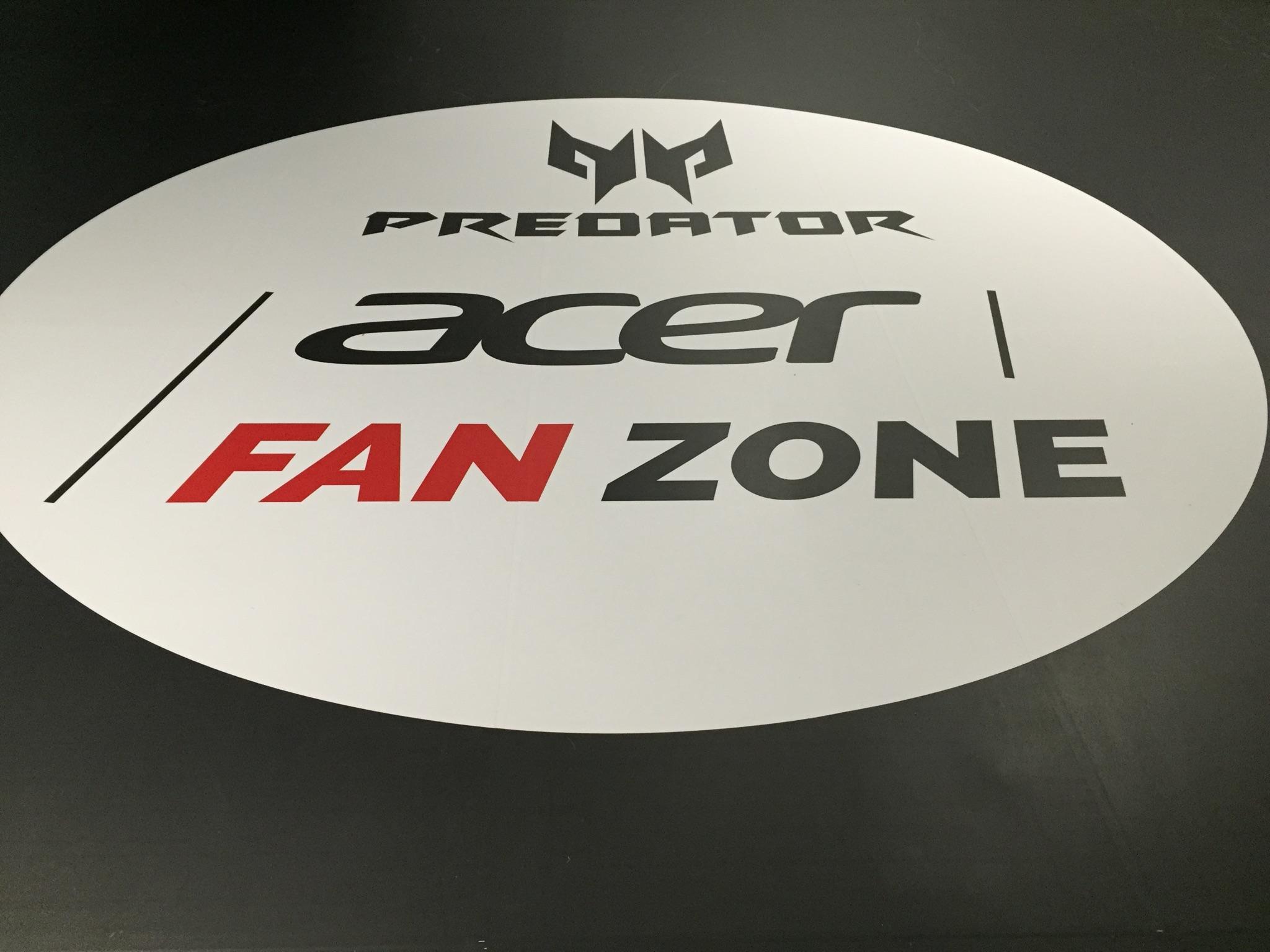 acer fan zone predator ASVEL BASKET