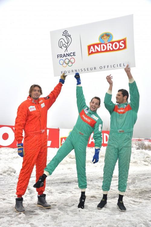 andros fournisseur officiel équipe de france olympique RIO 2016 CNOSF sponsor