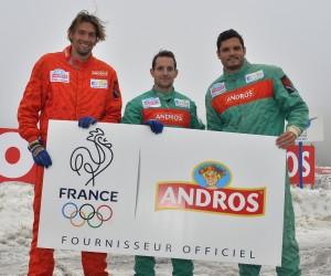 Objectif JO de RIO 2016 pour Andros, nouveau Fournisseur Officiel de l'Équipe de France Olympique