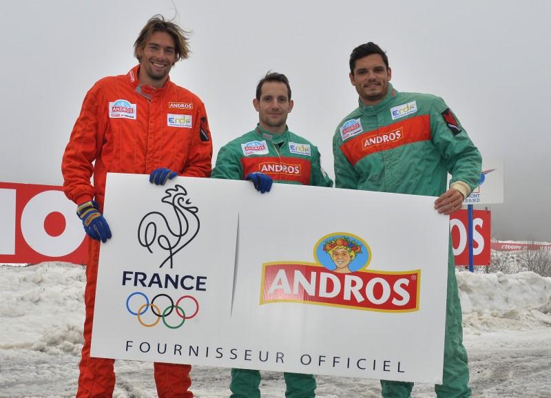 andros fournisseur officiel CNOSF sponsor équipe de france olympique RIO 2016