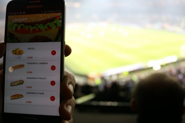 application mobile parc OL digital sport
