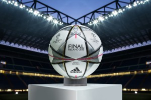 ballon officiel adidas finale UEFA Champions League 2016 MILANO