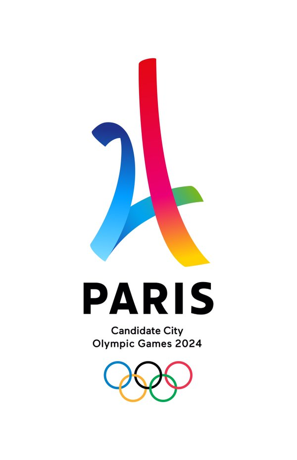 candidata city Paris 2024 logo official