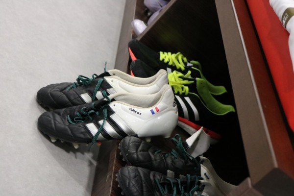 clément grenier chaussure adidas ACE 15.1 leather