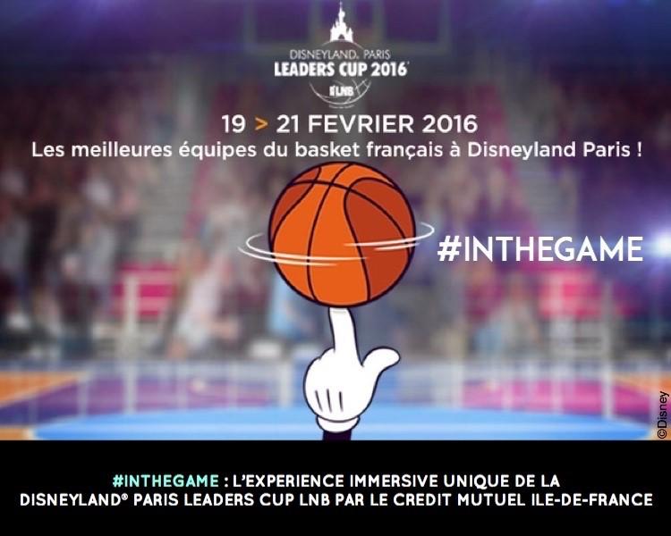 disneyland crédit mutuel LNB paris leaders cup 2016 #inthegame
