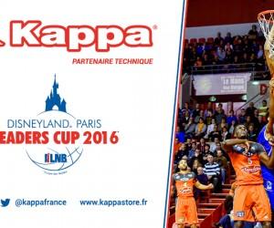 Kappa poursuit son ambitieuse stratégie de sponsoring sportif avec la Disneyland Paris Leader's Cup LNB