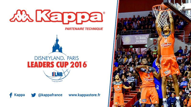 kappa disneyland paris leaders cup 2016 LNB sponsoring