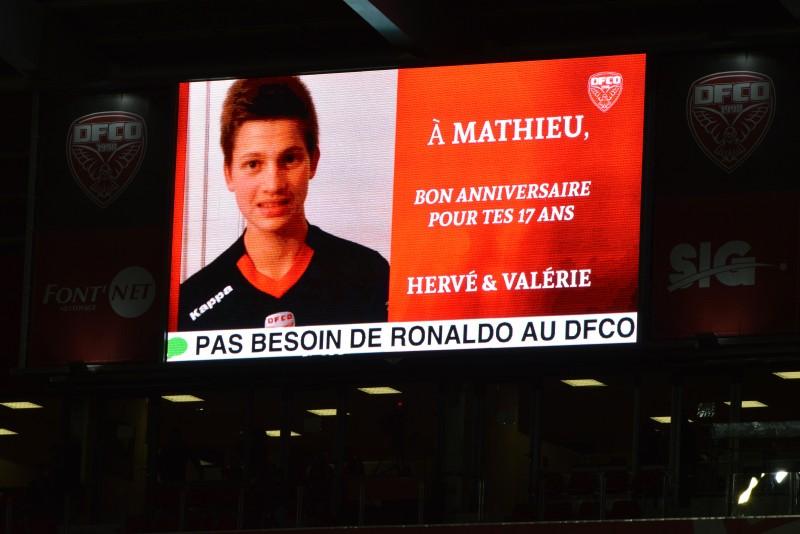 livewall DFCO Dijon fans