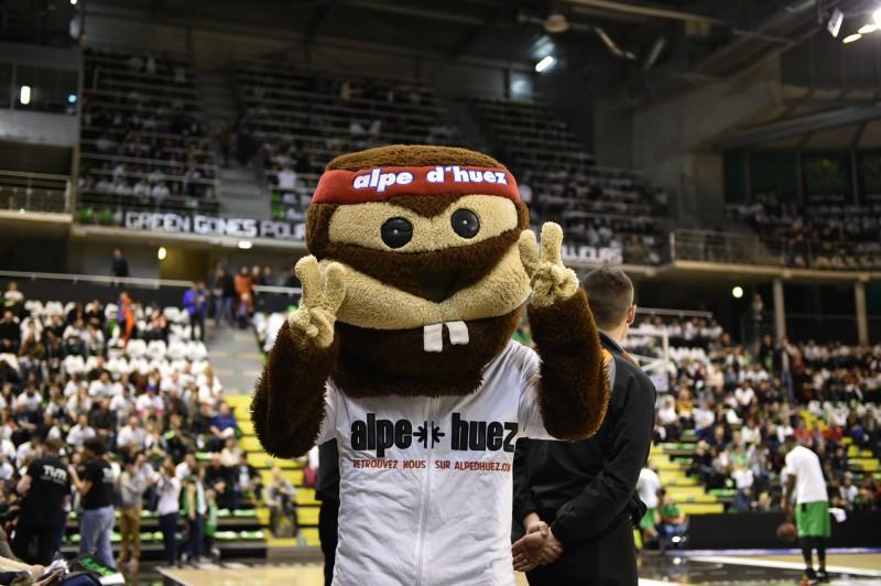 mascotte alpe d'huez ASVEL basket astroballe