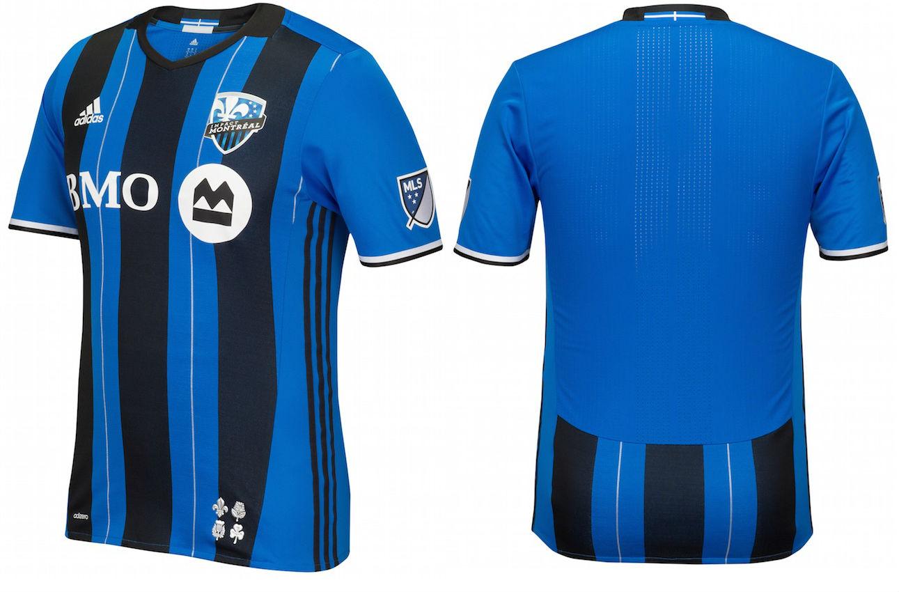 nouveau maillot impact montreal 2016 adidas MLS