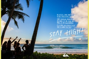 quiksilver marketing stay high