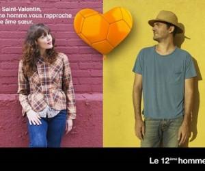 Orange réunit les couples à distance pour une expérience VIP Ligue 1 le week-end de la Saint-Valentin