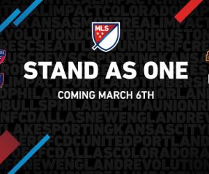 La MLS lance sa nouvelle campagne marketing 2016 avec «Stand As One»