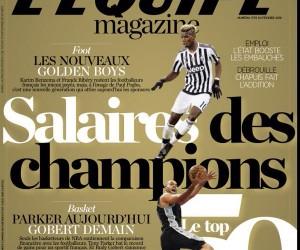 Dans les coulisses du TOP 50 des sportifs français les mieux payés en 2015 avec Erik Bielderman (L'Equipe Magazine)